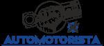 Automotorista logotipas blue